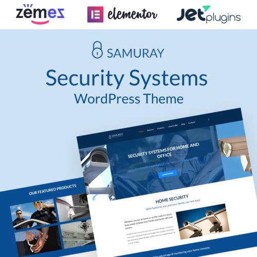 Samuray - WordPress Template based on Bootstrap