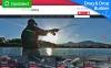 Tema MotoCMS E-commerce Responsive #58488 per Un Sito di Pesca New Screenshots BIG