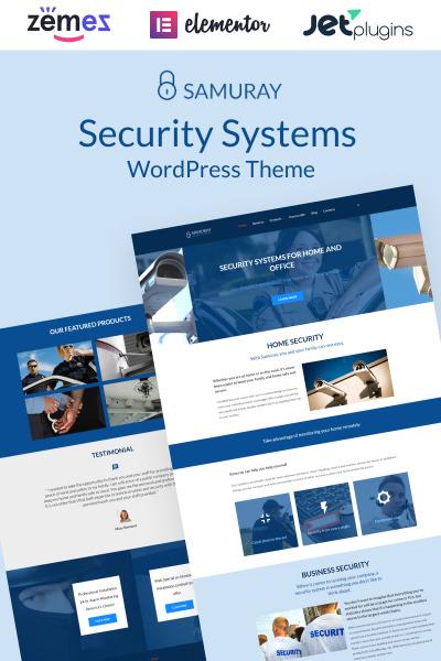 Security Responsive Tema WordPress