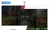 "Website Vorlage namens ""Eden - Exterior Design Modern Responsive HTML"""