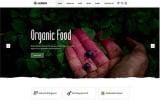 """Website Vorlage namens """"Herber - Accurate Organic Food Online Store"""""""