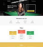 Sport Landing Page  Template 58503