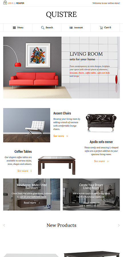 Magento Theme/Template 58511 Main Page Screenshot