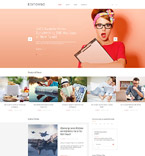 Books WordPress Template 58513