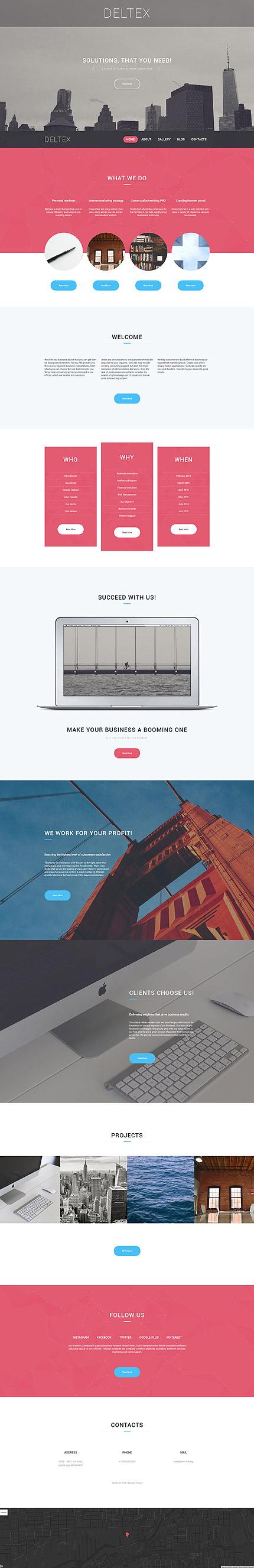 WordPress Theme/Template 58517 Main Page Screenshot