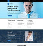 Landing Page  Template 58520