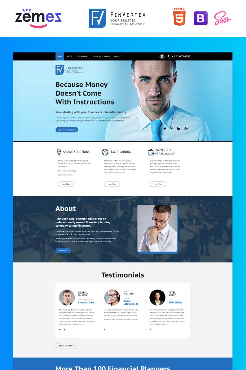 Business landing page template 58520 templates home landing page templates business most popular prev next flashek Image collections