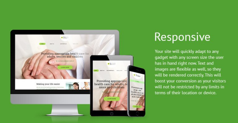 Medical Services WordPress Template