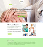 Medical WordPress Template 58522