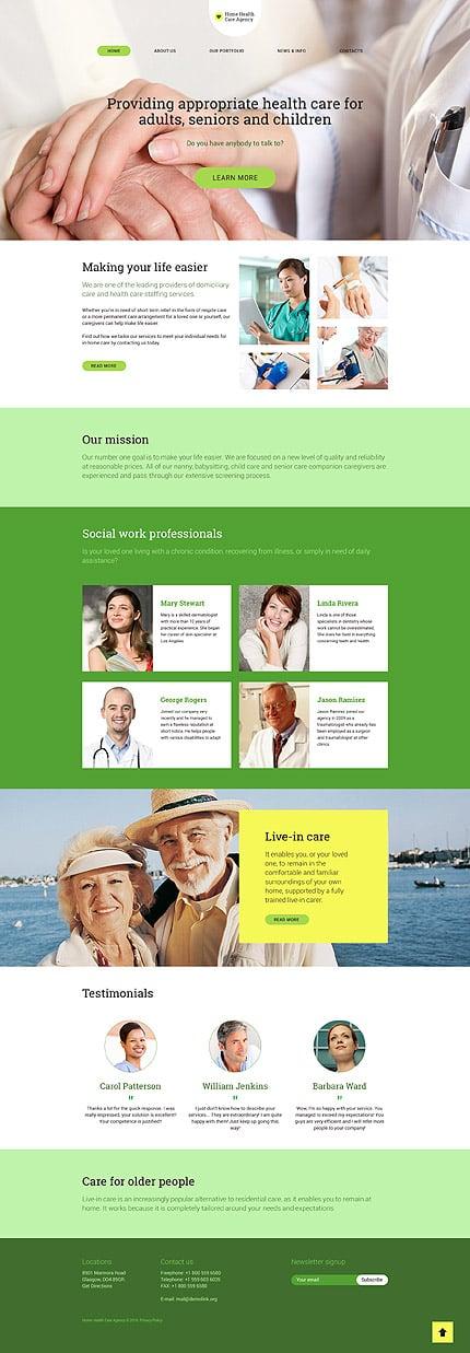 WordPress Theme/Template 58522 Main Page Screenshot