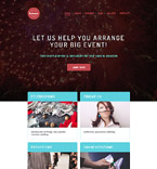 Entertainment WordPress Template 58523