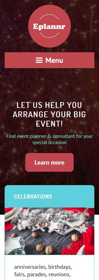 WordPress Theme/Template 58523 Main Page Screenshot