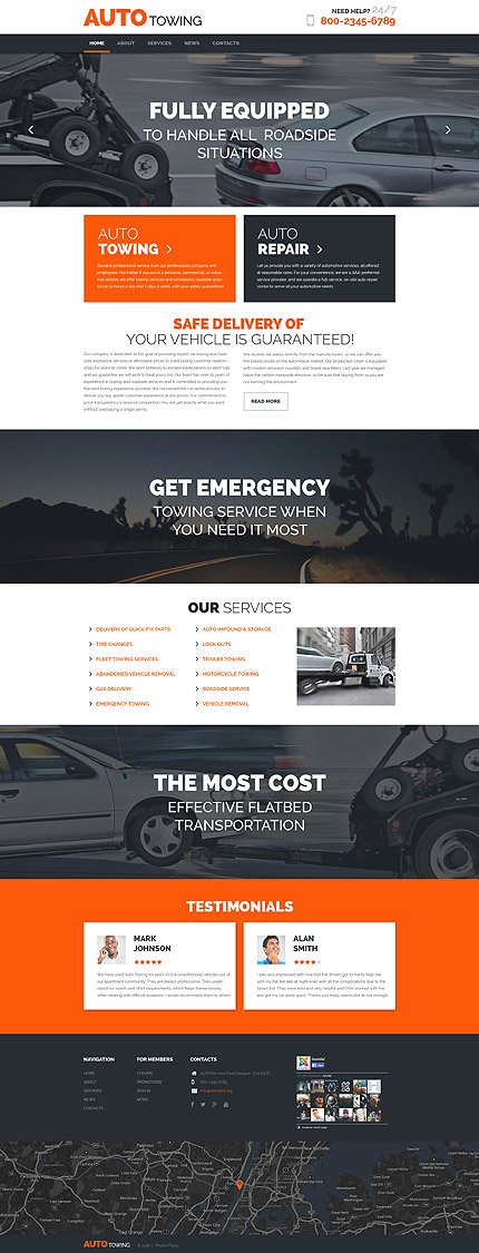 WordPress Theme/Template 58528 Main Page Screenshot