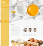 Agriculture Website  Template 58532