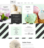 Food & Drink Website  Template 58535