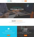 Web Hosting WordPress Template 58537