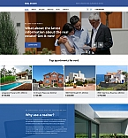 Real Estate Moto CMS 3  Template 58546