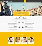 Travel Moto CMS 3  Template 58554