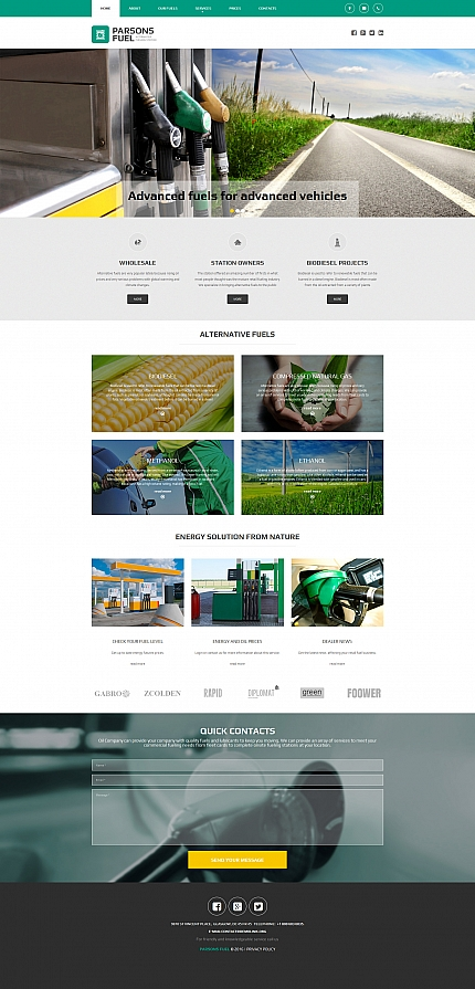 ADOBE Photoshop Template 58558 Home Page Screenshot