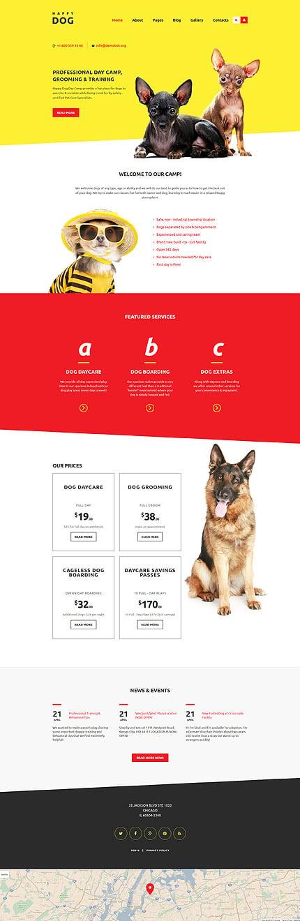 Joomla Theme/Template 58559 Main Page Screenshot
