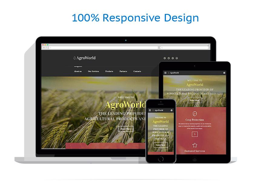 Modèles HTML5 Agriculture #58560