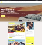 Travel WordPress Template 58562