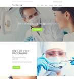 Medical Website  Template 58563