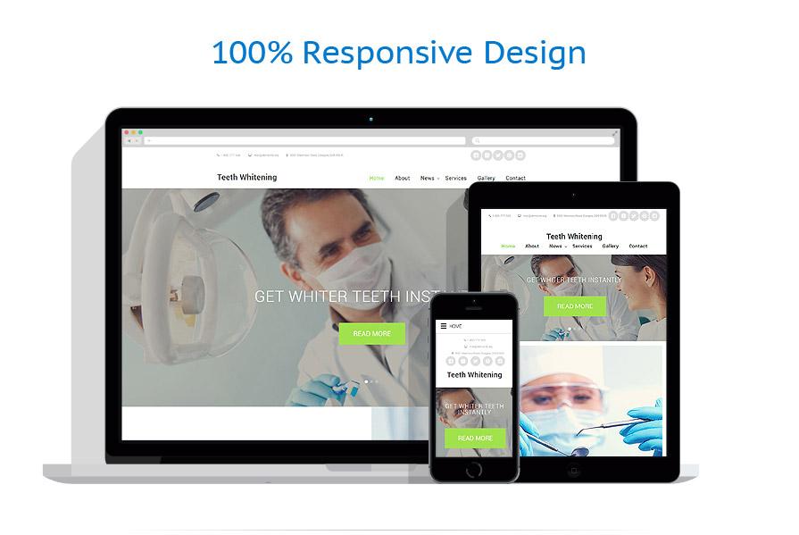 Modèles HTML5 Médical #58563