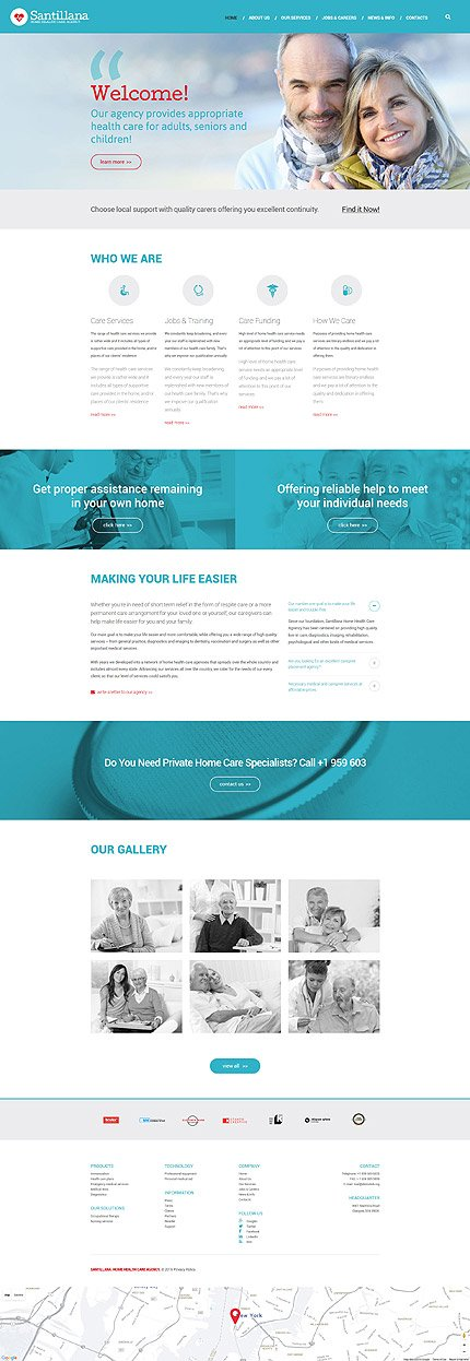 Drupal Template 58564 Main Page Screenshot