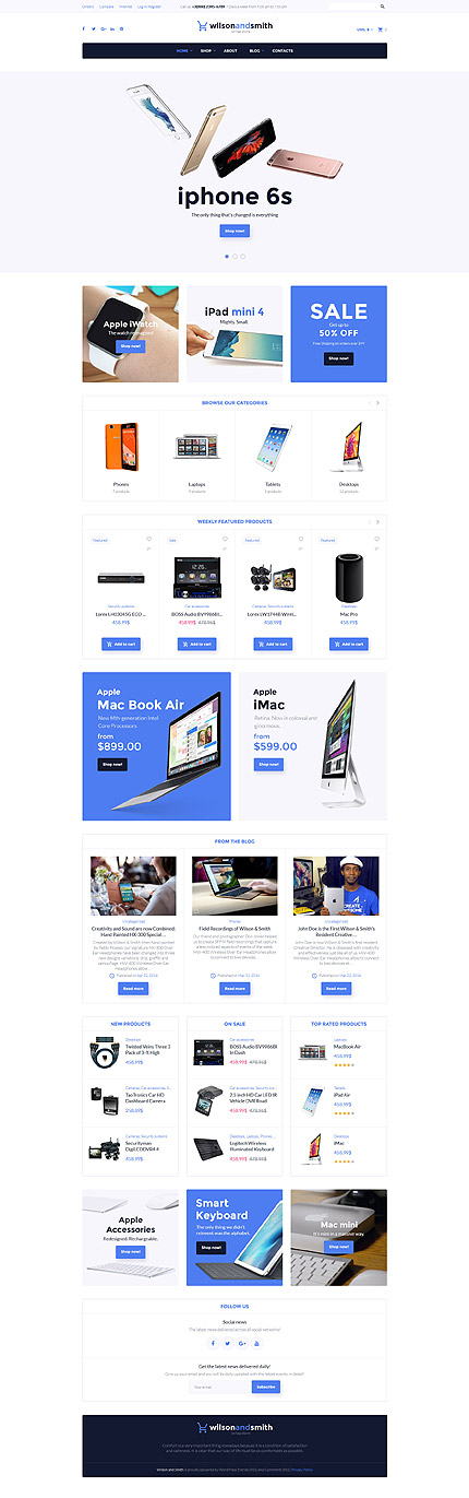 ADOBE Photoshop Template 58569 Home Page Screenshot