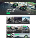 Sport WordPress Template 58571