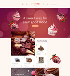 Food & Drink OpenCart  Template 58576