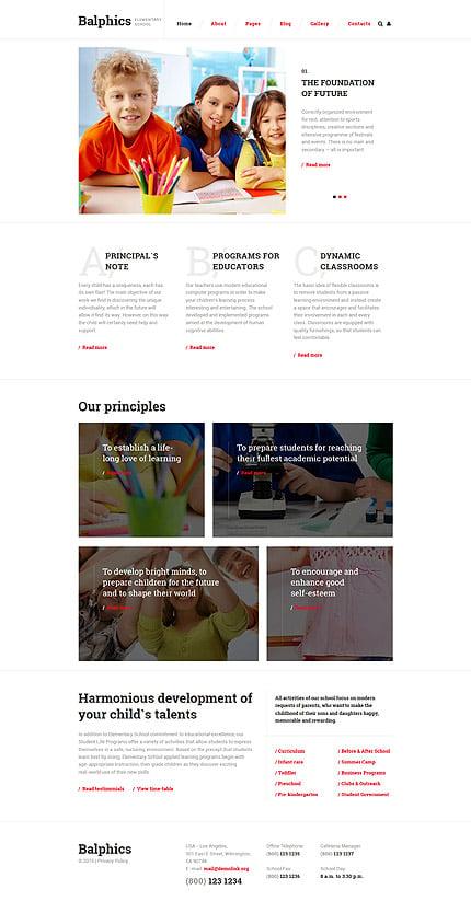 Joomla Theme/Template 58577 Main Page Screenshot