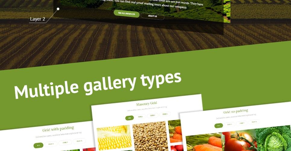 agriculture website template  templatescom