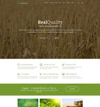 Agriculture Website  Template 58580