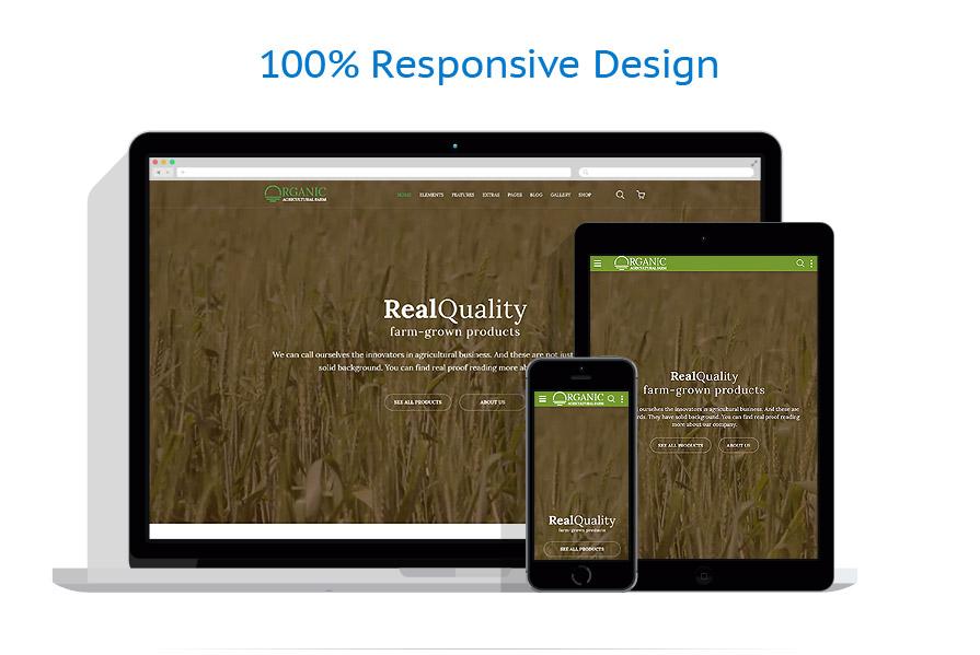 Modèles HTML5 Agriculture #58580
