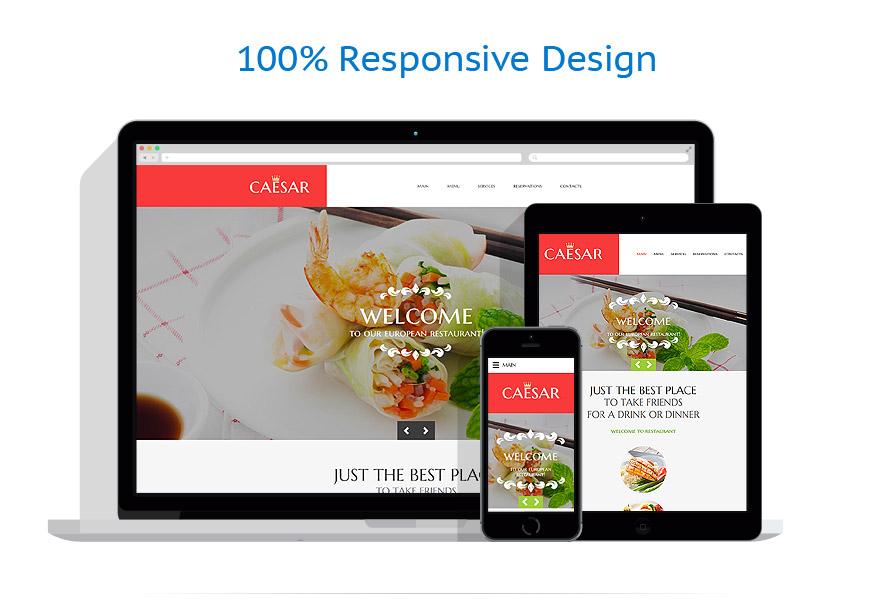 Modèles HTML5 Café et Restaurant #58582