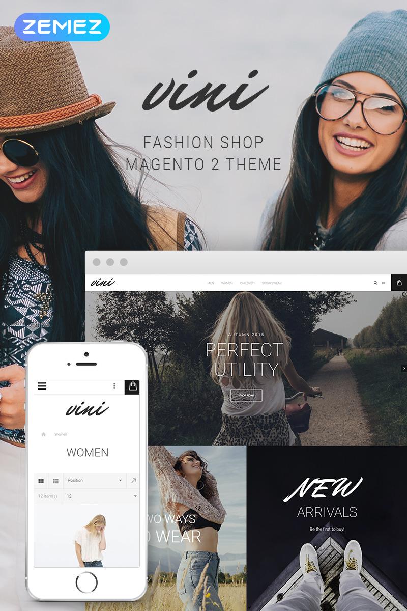 Fashion Magento Theme 58585 | Templates.com