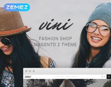 Vini - Fashion Shop Magento Theme