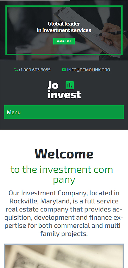 WordPress Theme/Template 58591 Main Page Screenshot