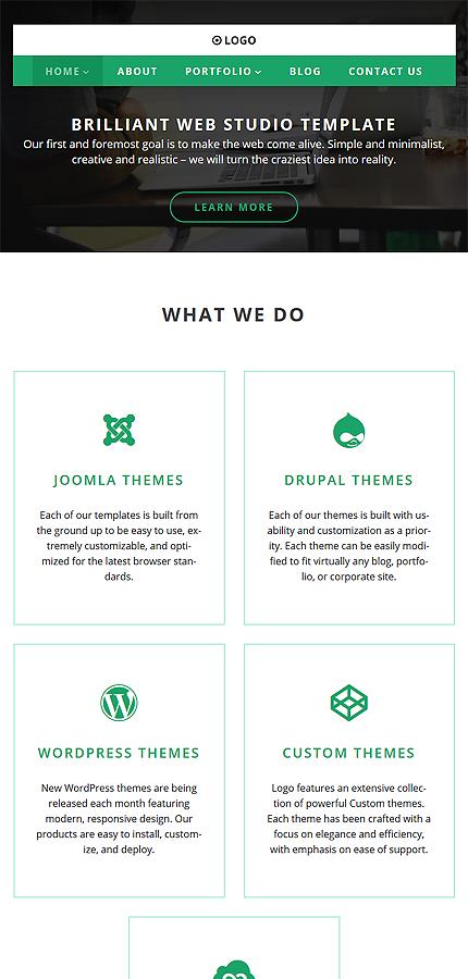 WordPress Theme/Template 58593 Main Page Screenshot