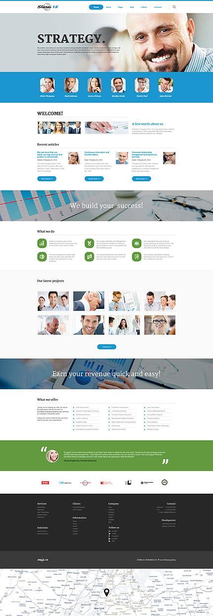 Joomla Theme/Template 58597 Main Page Screenshot