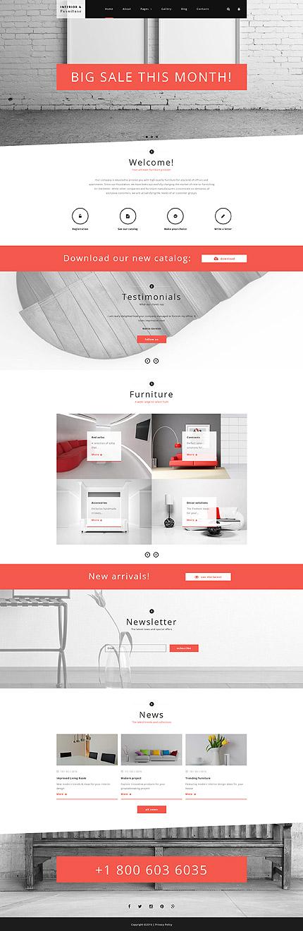 Joomla Theme/Template 58598 Main Page Screenshot