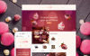 Адаптивний OpenCart шаблон на тему магазин солодощів New Screenshots BIG