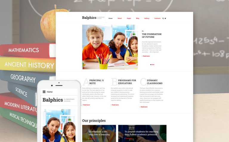 Balphics Joomla Template New Screenshots BIG