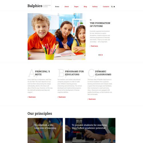 Balphics - Joomla! Template based on Bootstrap