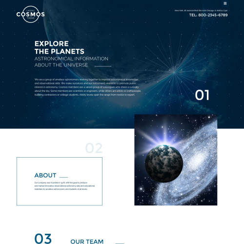 Cosmos - Website Template based on Bootstrap