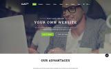 """""""Grand Vector"""" Responsive Website template"""