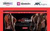 """IronMass - Gym Fitness & Bodybuilding"" - адаптивний WordPress шаблон New Screenshots BIG"