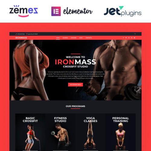 IronMass - WordPress Template based on Bootstrap